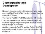 capnography and deadspace