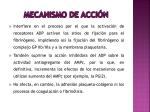 mecanismo de acci n