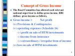 concept of gross income