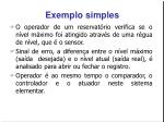 exemplo simples