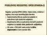 poslovni registri opis stanja 3