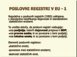 poslovni registri v eu 1
