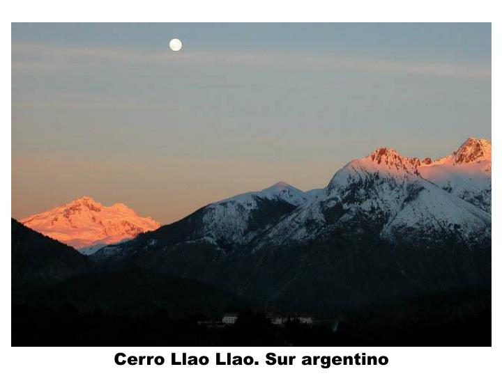 Cerro Llao Llao. Sur argentino