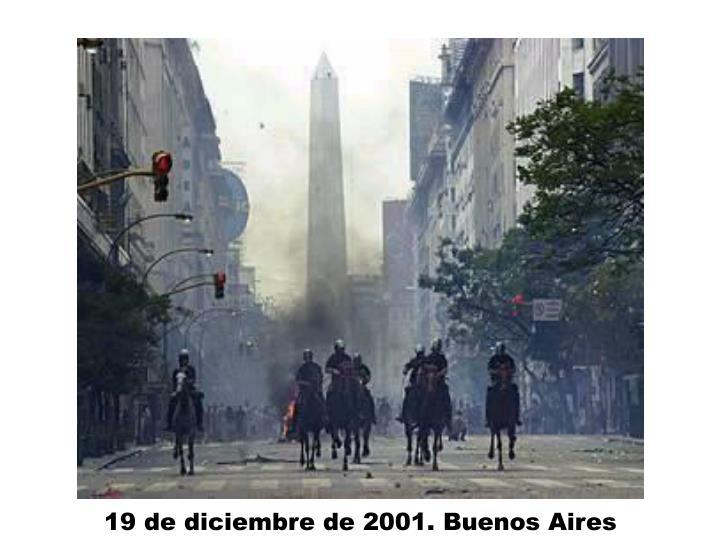 19 de diciembre de 2001. Buenos Aires