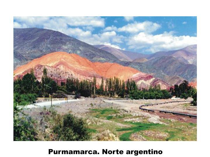 Purmamarca. Norte argentino