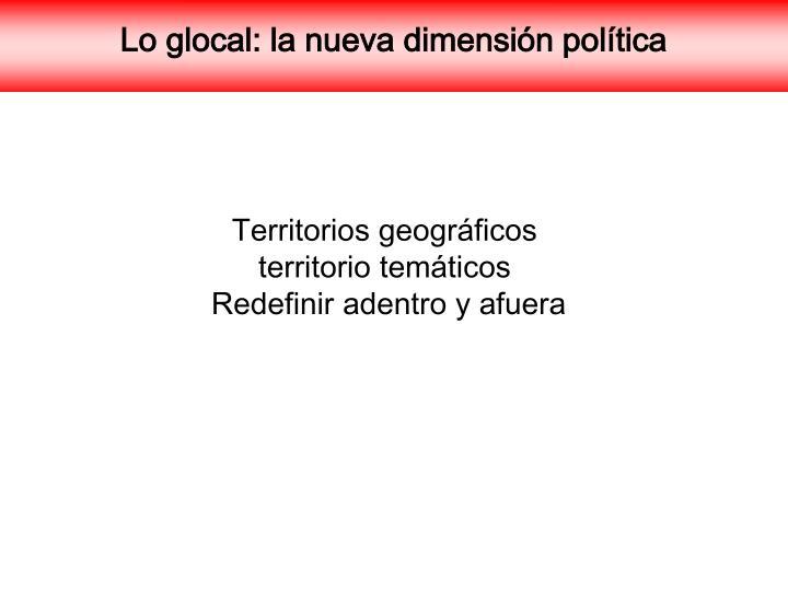 Territorios geográficos