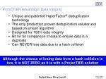 protectier advantage data integrity