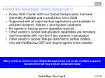 protectier advantage global deduplication