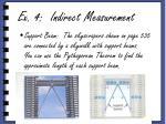 ex 4 indirect measurement