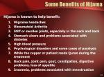 some benefits of hijama