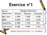 exercice n 1