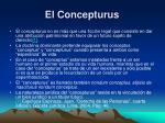el concepturus