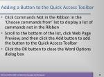 adding a button to the quick access toolbar29