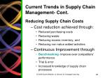 current trends in supply chain management cont2