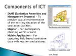 components of ict