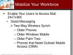 mobilize your workforce24