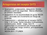 antagonistas del receptor 5ht3