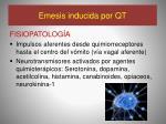 emesis inducida por qt