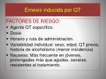 emesis inducida por qt1