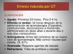 emesis inducida por qt2