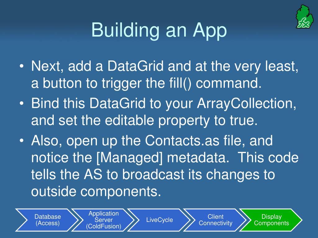 Building an App