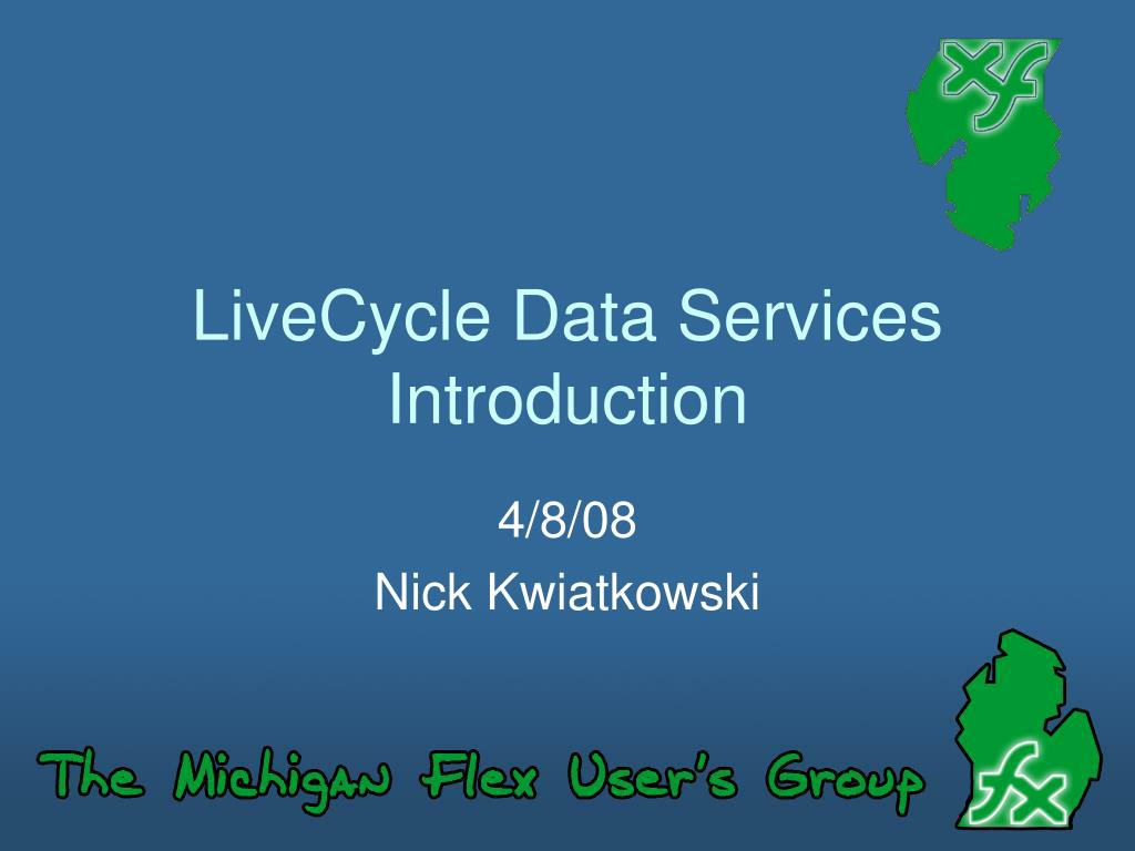 LiveCycle Data Services Introduction