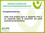 modelo curricular por ciclos proped uticos cun13