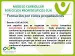 modelo curricular por ciclos proped uticos cun8