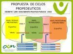 propuesta de ciclos propedeuticos decreto 1295 documento politica publica 2010