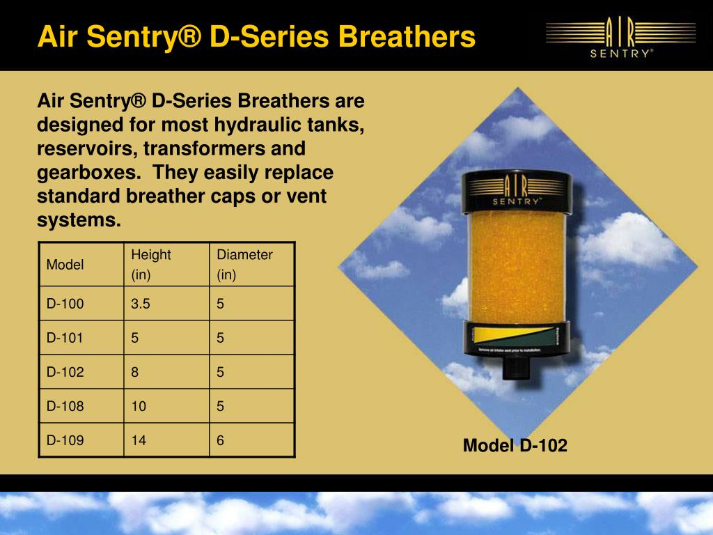PPT - Contamination Control Breathers for Enclosed Fluid