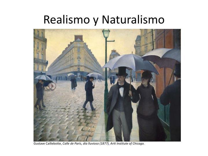 realismo y naturalismo n.