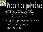 produit de polyn mes2