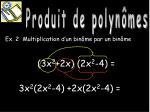 produit de polyn mes3