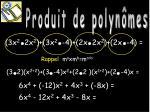 produit de polyn mes5