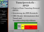 tunnelprotokolle pptp