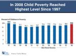 in 2008 child poverty reached highest level since 1997
