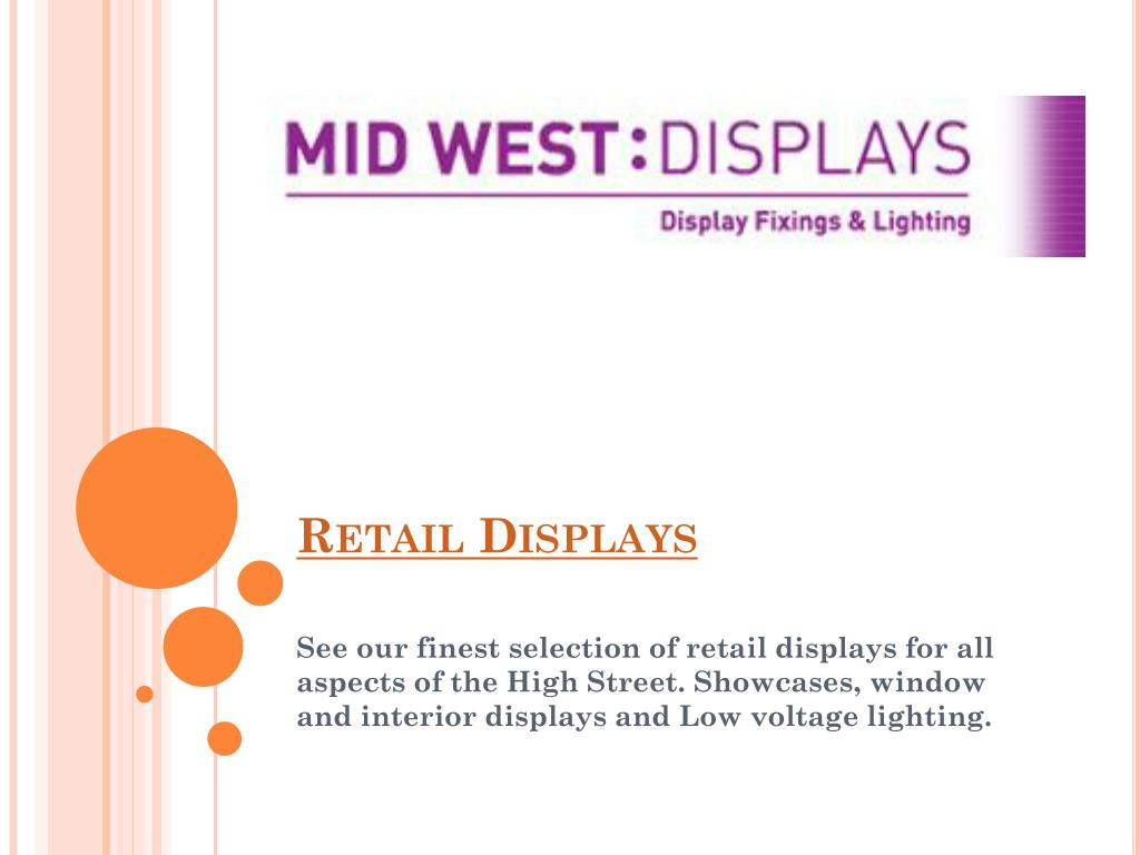 retail displays l.