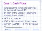 case 1 cash flows1