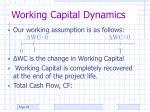 working capital dynamics