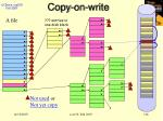 copy on write116