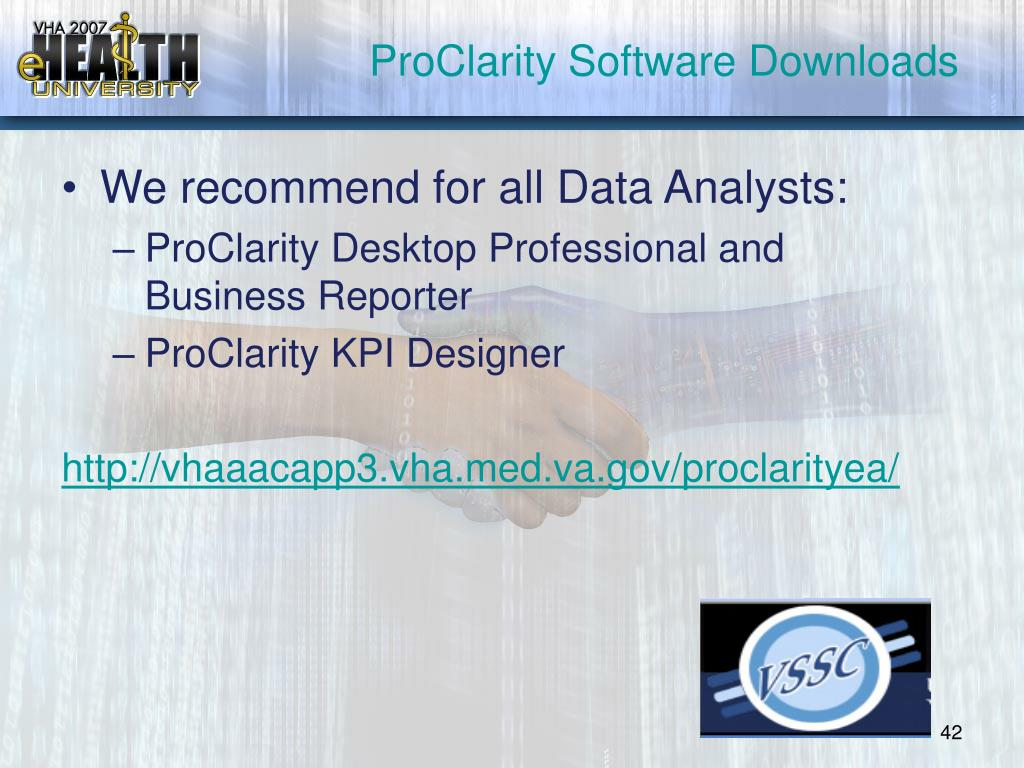 ProClarity Software Downloads