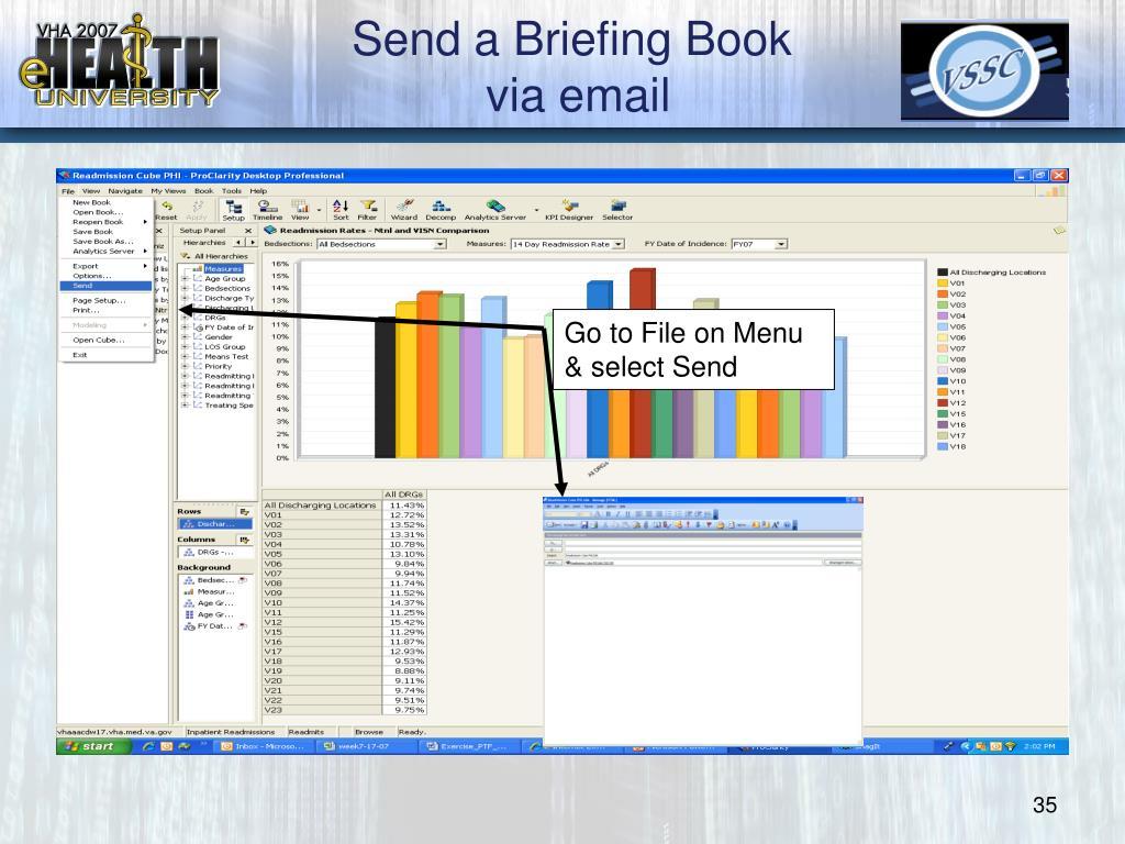 Send a Briefing Book