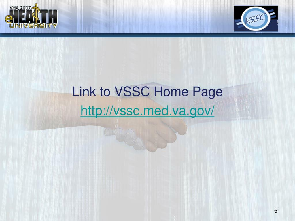 Link to VSSC Home Page