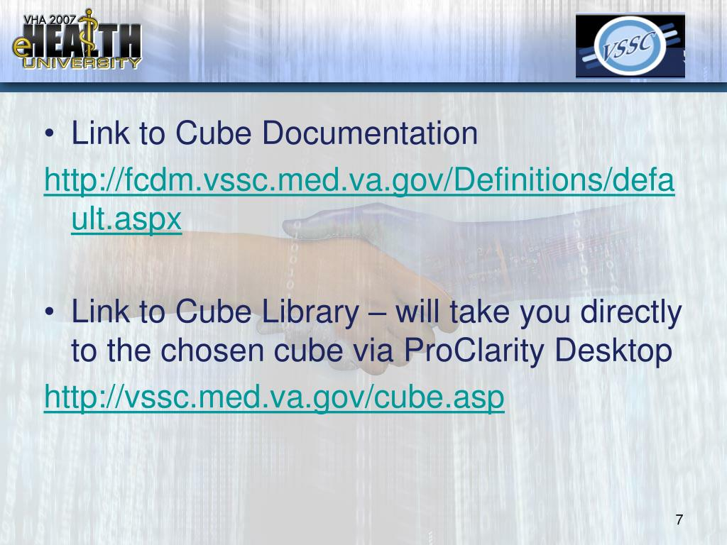 Link to Cube Documentation