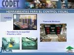 herramientas para el control visual