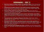 denmark eec 2