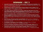 denmark eec 3