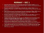 norway eec 1