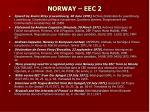 norway eec 2