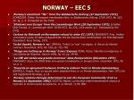 norway eec 5